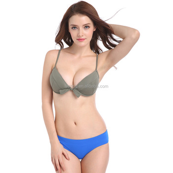 2016 Hot Beautiful Push Up Sex Girl Swim Wear Sexy Japanese Girl Bikini