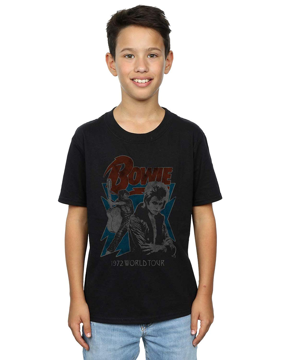 David Bowie LOGO Vintage Style Licensed Adult T-Shirt All Sizes