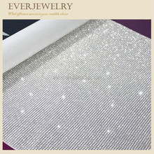120*45 2mm/3mm/4mm Zilver Glas <span class=keywords><strong>Strass</strong></span> Vel/<span class=keywords><strong>Hotfix</strong></span> Aluminium