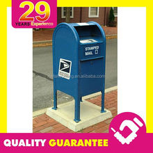 CUSTOM PUBLIC PROJECT OUTDOOR CAST IRON MAILBOX