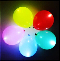 Factory supplier wholesale led balloon with CE & ROHS for wedding & party & Halloween & Christmas decoration