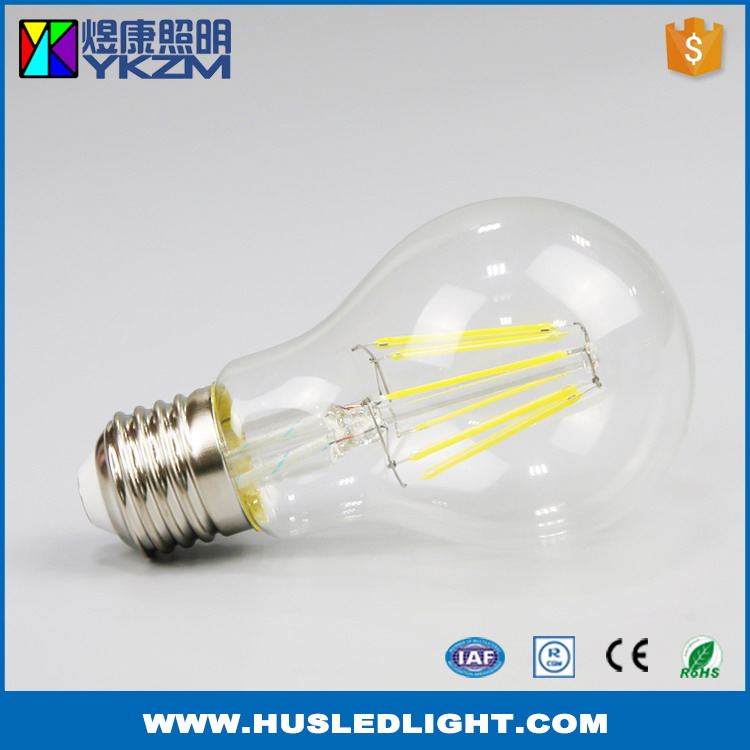The newest first grade led filament light edison bulb A19