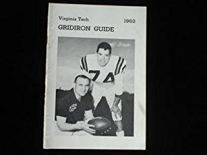 1962 Virginia Tech Gobblers Football Official Media Guide EX+ - College Programs