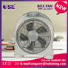 14 inch home appliance box fan with handle with 5PP blade
