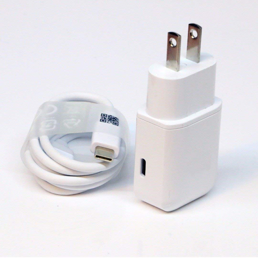 OEM Professional Kit for ZTE Warp Sync Quick Charge 3.0 Adaptive Fast Wall Charger Includes 2 Cables for USB-C and MicroUSB!