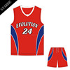 Wholesale basketball Set New Design dry fit basketball Uniform