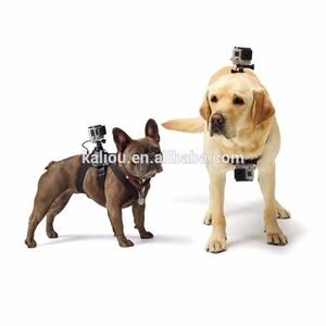 Kaliou Go pro Accessories Dog Fetch Harness Chest Strap For Go pro 7 6 5 4 3 2 1 Sjcams Sj4000 Yi 4K Action Camera Accessory