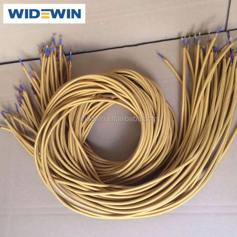 50m/roll Antique Style Wire Vintage Cotton Cloth Cable