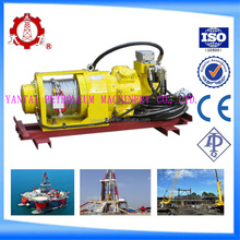Manual hand air pneumatic winch with 10kn pull force