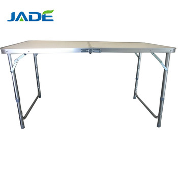 Portable lightweait Outdoor Picnic Aluminum Metal Camping Folding Table