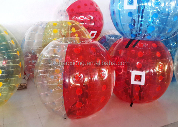 Colorful Inflatable Bumper Ball / Body Bubble Ball / Human Hamster Ball For Adults