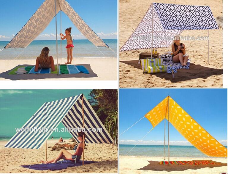 Australia Beach Sun Shelter Shade Canvas Tarp Tent