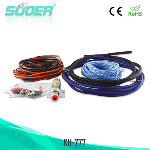 Suoer Factory price car amplifier wiring kit cable car audio cable accessories