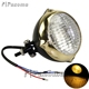 Gold fancy wholesale motorcycle led lighting motorcycle led driving lights for chopper bobber