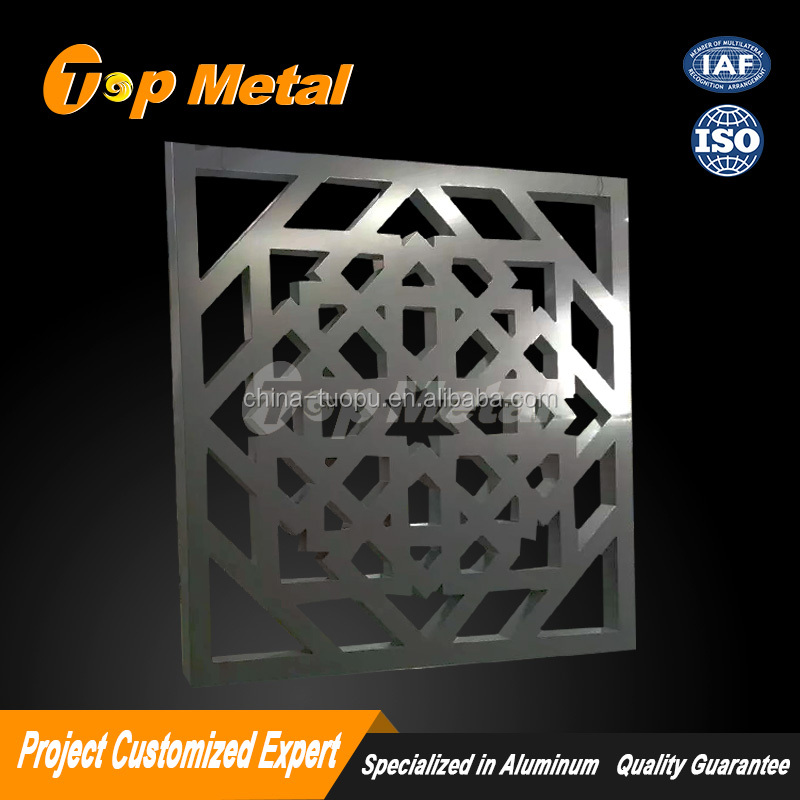 Decorative CNC Cut Metal Screen Design/ CNC Cut Steel Screens