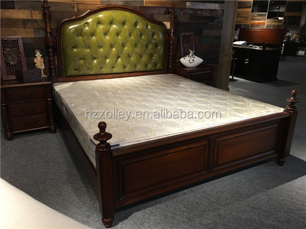 Bedroom Furniture Dubai luxury dubai bedroom furniture leather bed with bench,ottoman