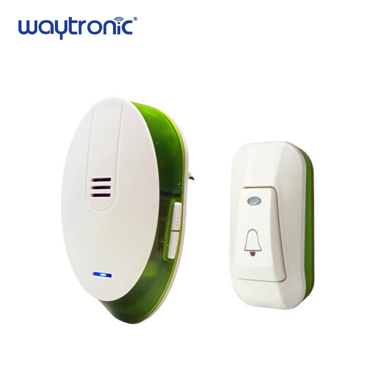 AC220V Wireless Electronic Ring Doorbell for Office Home Apartments