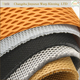 AR135 warp knit breathable polyester 3D air mesh fabric