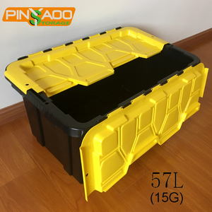 Garage Use Plastic Storage Tote with most competitive price from factory directly