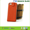 High quality leather flip case with belt clip for iphone 5