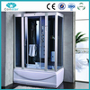 Small compact family useful high quality cheap price bathroom cabinet nice whirlpool massage shower cabin with steam with tub