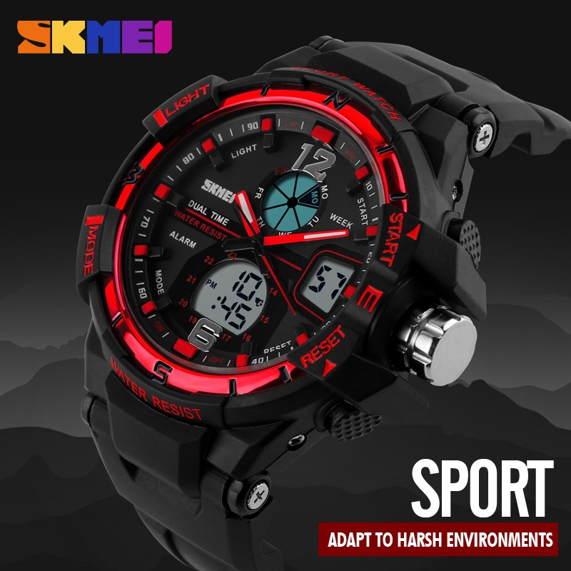 cheap watch alarm led digital waterproof wrist outdoor watches sports men quartz itm