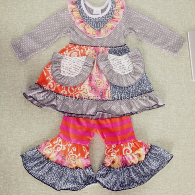 US Girls 2 PC Pants Set Girls Boutique Set Chicken Pants Outfit