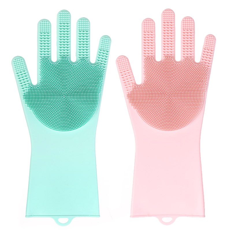 silicone cleaning glove