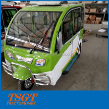 2016 new energy durable 6 seats passenger gasoline tricycle