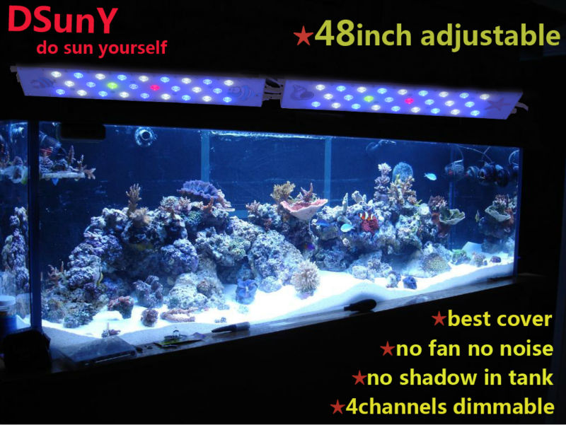 Dsuny New Manual Dimmable Light Of 4ft Marine Reef One Led Light ...