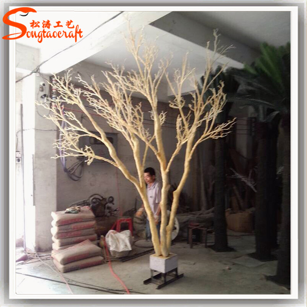 Make Model Manzanita Tree Dry Trunk Artificial Without Leaves