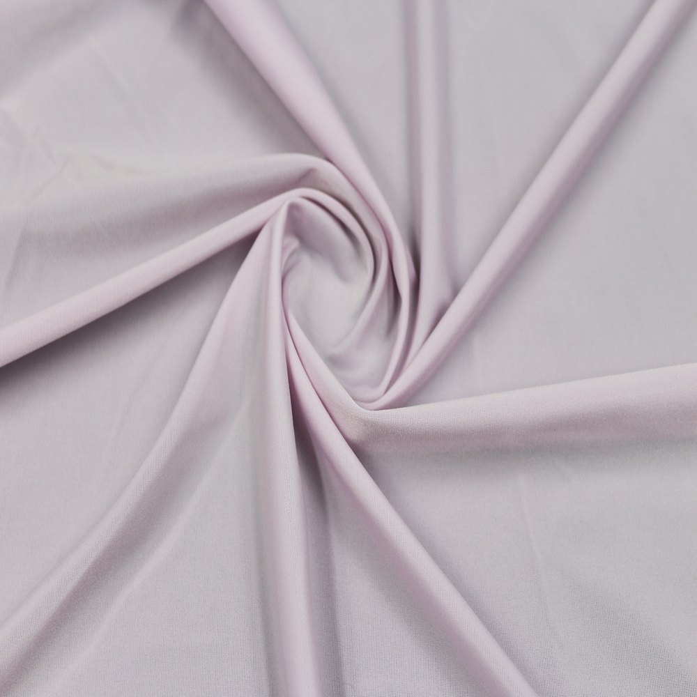 NO MOQ 110g 83% Nylon 17% Spandex Weft Knitting Fabric For Underwear Bra