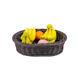 Free Samples Supermarket Display Bulk Rectangle Wicker Baskets