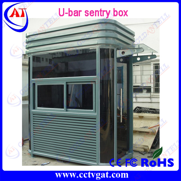 High quality Luxury Temporary strong frame Modular design prefabricated Guard shelter Security sentry house