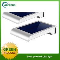 Outdoor solar address light solar house motion sensor light