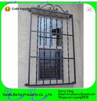 Top Quality Popular Decorative Simple Wrought Iron Burglar Guards for Windows