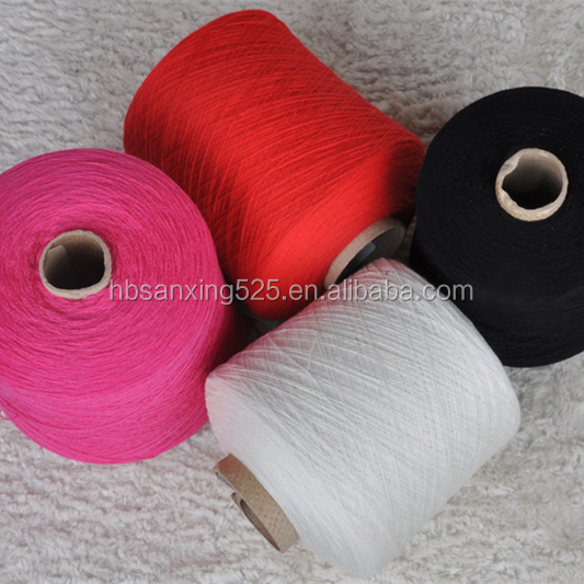 High quality blended knitting yarn cotton & acrylic yarns for knitting