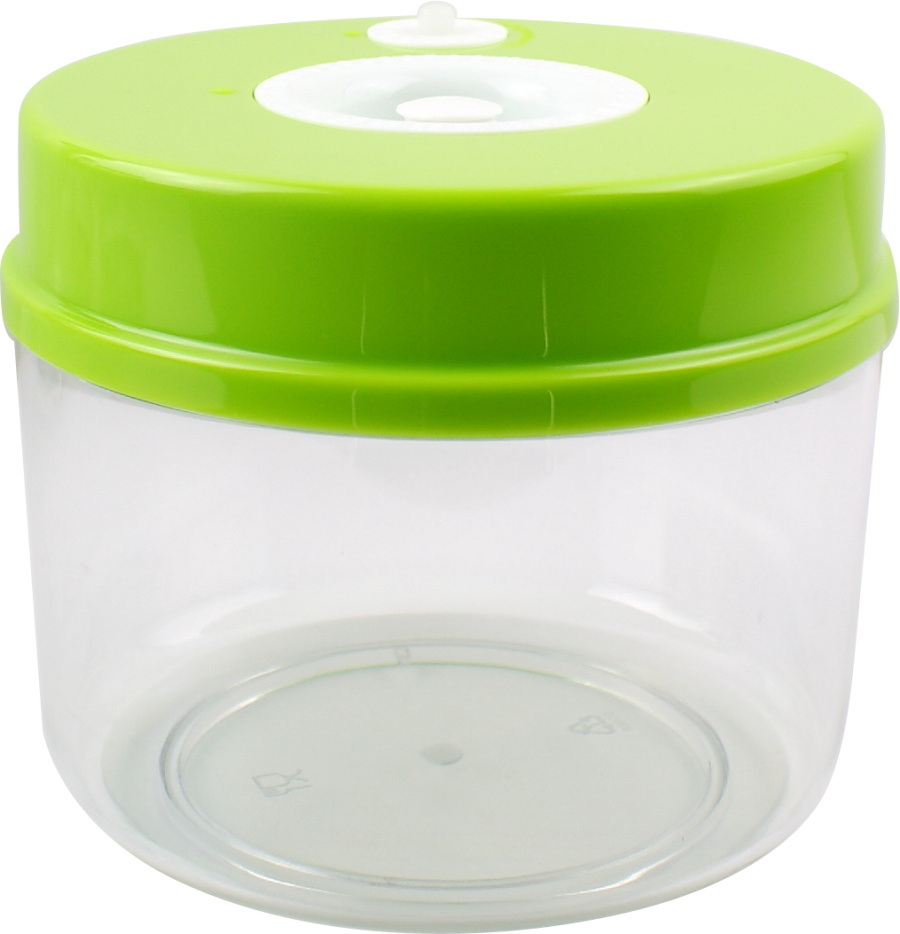 Food Saver Vacuum Storage Container With 4 Size Per Set Transparent