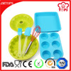 7 Piece Silicone Baking Tool Set/ Silicone Bakeware Set for Kids OR Adults