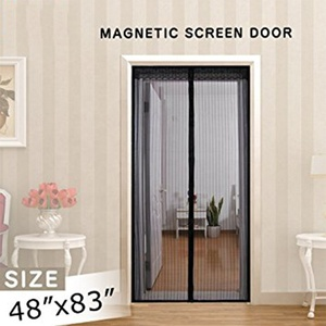 2018 Instant Screen Door mosquito net / Magnetic door Curtain / fly screen door