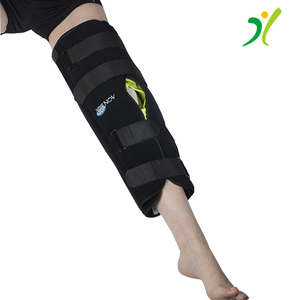 Gel Pack Cold Compression Tri-Panel Pain Relief Knee Support