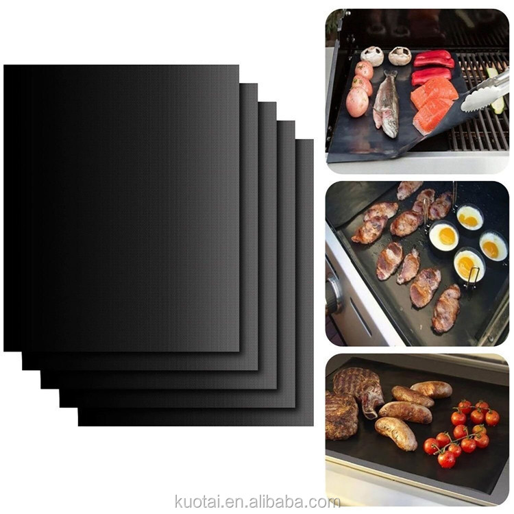 High temperature BBQ mat non-stick outdoor Barbecue Mat Popular BBQ Grill Mat