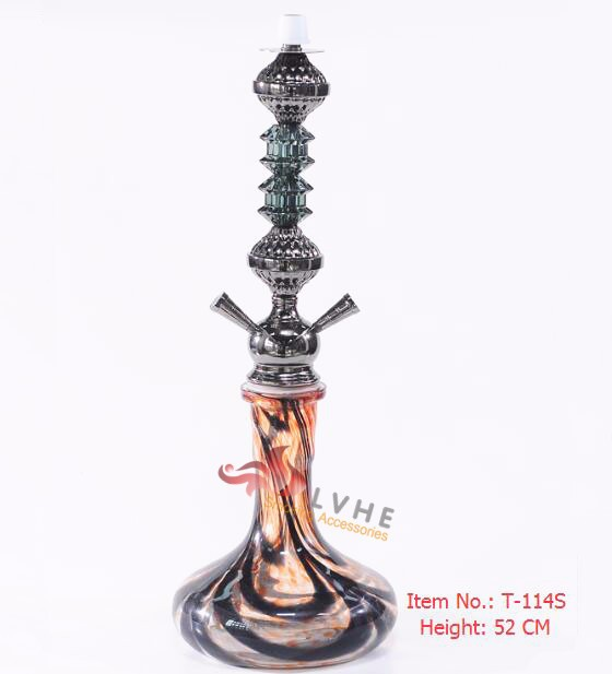 LVHE Hookah Shop Unique Designs Middle Size Hookah With Cage, Eiffel Tower Hookah