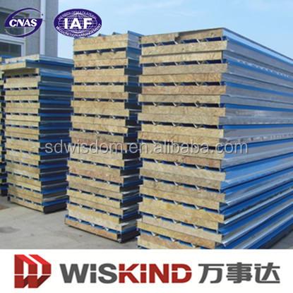Pannelli coibentati per pareti tetto prezzi all 39 ingrosso for Case prefabbricate a lotti stretti