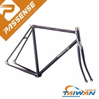Hot sale fixed gear bike wholesale fixie bicycle parts Taiwan made bike frame