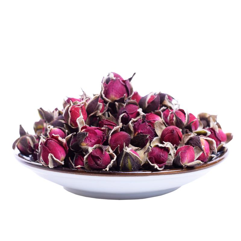 herbal drink rose bud flower tea Decorated with flower tea - 4uTea | 4uTea.com