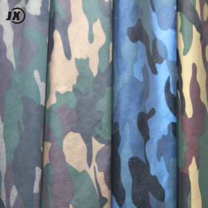 Pu Camouflage Fabric Leather Material For Shoes Sneakers