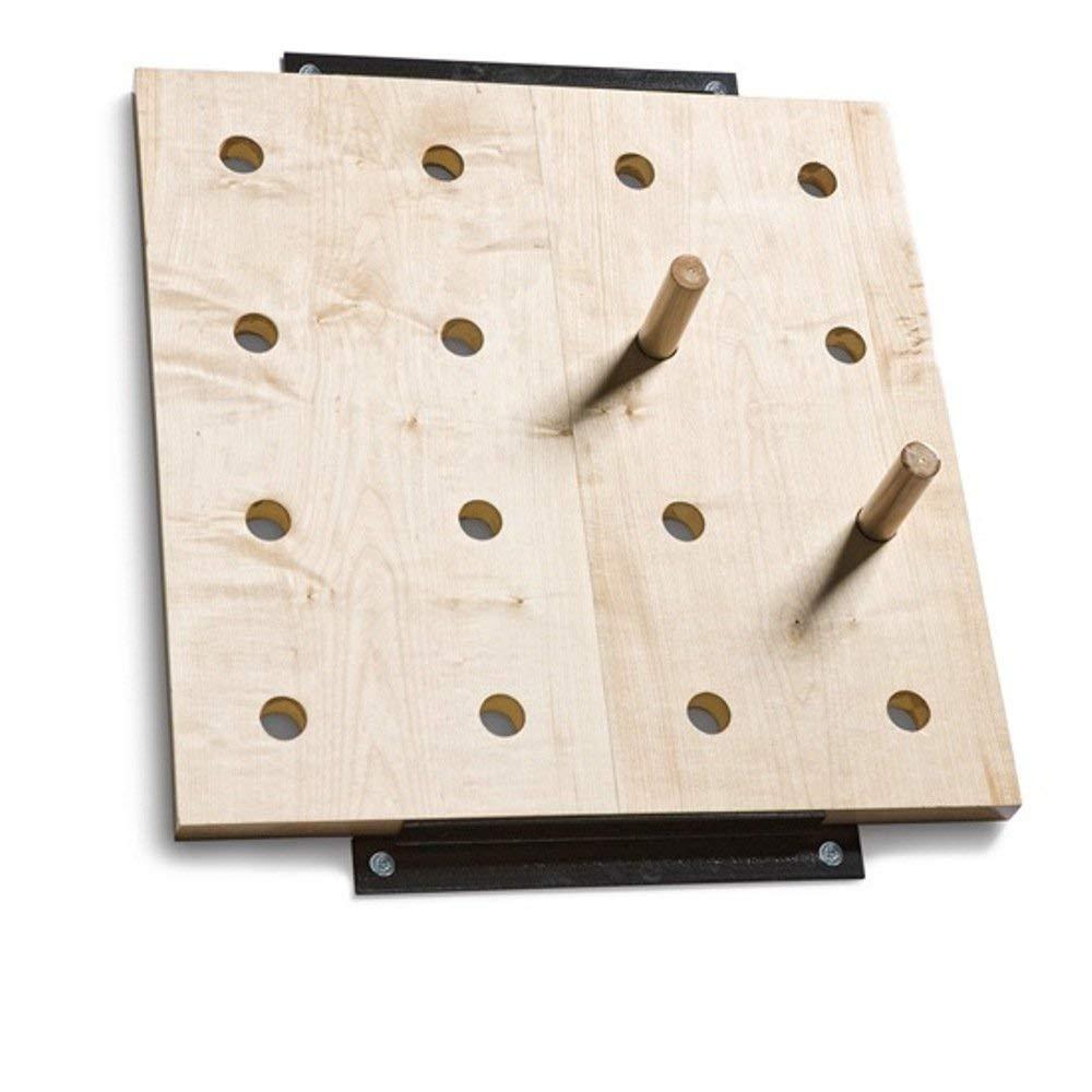"Peg Board Climber Size: 30"" H x 30"" W x 2"" D"