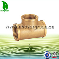 Brass Threaded Fitting Female Equal Tee