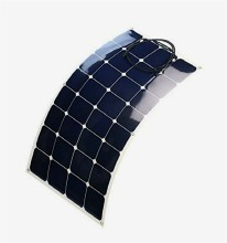 Attractive Price Professional China Factory Photovoltaic Cells Price 100W 18V Semi Flexible Solar Panel